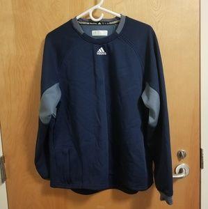 Men's Adidas Baseball Fleece Sweatshirt Size Large